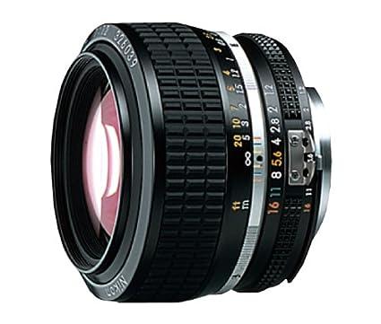 Nikon Nikkor mm f  Objetivo para Nikon distancia focal fija mm