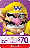 $70 Nintendo eShop Gift Card [Digital Code]: more info
