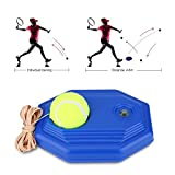 Tennis Trainer, Tennis Training Base with Ball String Self-study Rebound Ball with Training Baseboard for Kids, Beginner