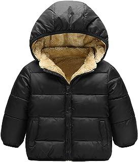 Taigood Ragazzi Invernale Giubbotto Piumino Caldo Removibile Bambino Cappotto con Cappuccio Ragazze Jacket 2-8 Anni FZ-CSWT-16