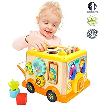 Amazon Com Wolvol Educational Kids Toddler Baby Toy Musical
