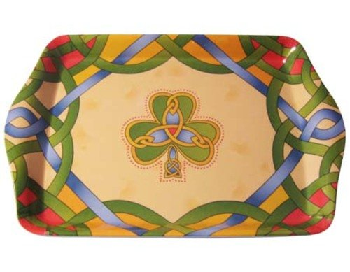 Shamrock Tea Tray-Irish