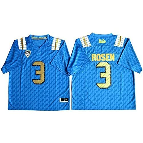 23da0f00d durable modeling Men's Josh Rosen 3 UCLA Bruins College Football Jersey  Blue. JERSEYS · NCAA