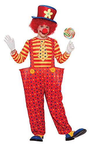 Kids Oversized Clown Shoes (UHC Hoopy the Clown Circus Carnival Theme Fancy Dress Child Halloween Costume, Child L (12-14))