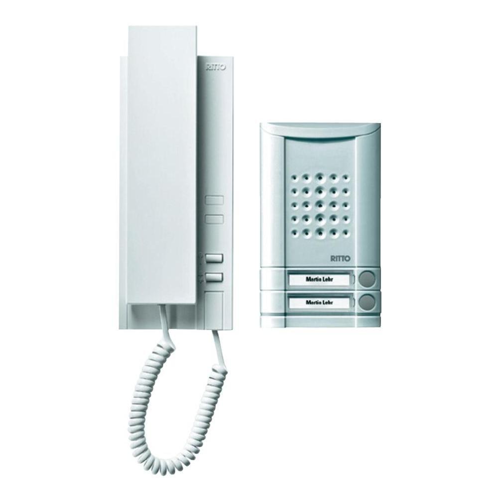 Ritto by Schneider Wired intercom systemAluminium: Amazon.co.uk: DIY ...