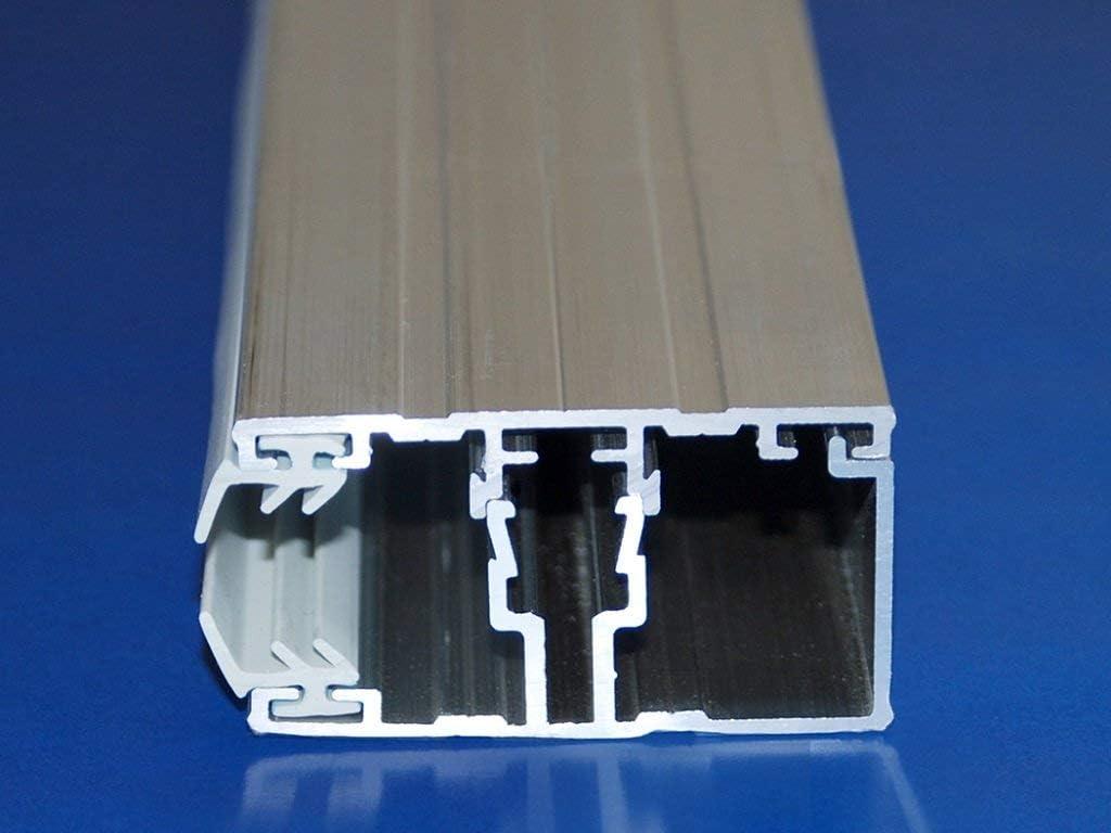 ACRYLSHOP24 Terrassen/überdachung Carport Komplettset Acrylglas 16//32 Farblos Stegplatten Tiefe:2000mm Breite:3090mm Mehrere Ma/ße verf/ügbar