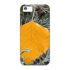 MMZ DIY PHONE CASEHot Golden Autumn Leaf First Grade Tpu Phone Case For iphone 5/5s Case Cover