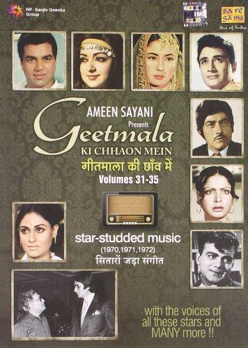 Geetmala Ki Chhaon Mein Volumes 31-35 - Ameen Sayani (5-CD Set, Star Studded Music - 1970, 1971, 1972) ()