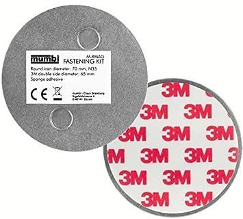 Top mumbi Magnet Befestigung für Rauchmelder Magnetbefestigung für BI24