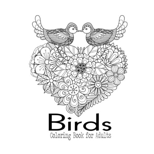 Birds Coloring Book For Adults: A Walk In The Woods Coloring Book For Bird  Watchers: Book, Adult Coloring: 9781944741259: Amazon.com: Books