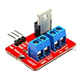 Parts tower 3pcs IRF520 MOS FET Driver Module Top MOSFET Button 0-24V For Arduino MCU ARM Raspberry pi New