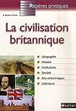 Image de Reperes Pratiques: La Civilisation Britannique (French Edition)