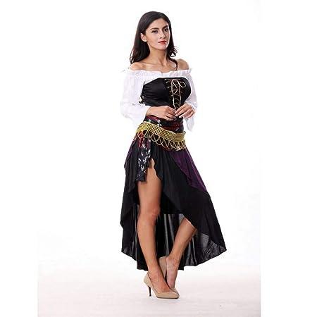 Shisky Disfraz de Halloween Mujer, Disfraces de Halloween gótico ...
