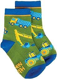 Stephen Joseph Little Boy's All Over Print Socks, Sockshos