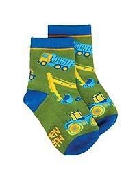 Stephen Joseph Little Boy's All Over Print Socks, Sockshosiery