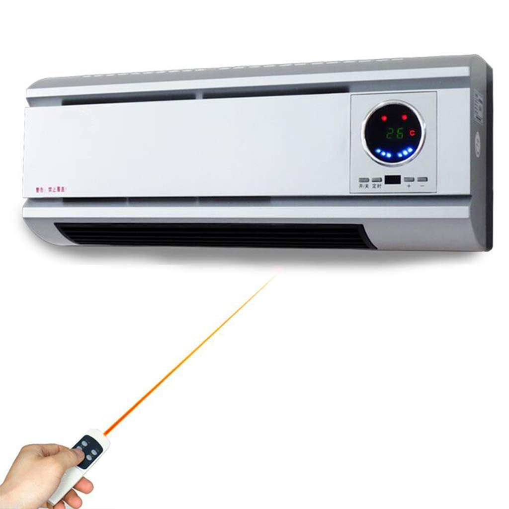 Acquisto YX Riscaldatore | Domestico Impermeabile Riscaldatore Elettrico | Stufa A Parete | Controllo A Distanza Risparmio Energetico Risparmiare Elettricità Riscaldamento Ventola Aria Condizionata Bianco Prezzi offerte