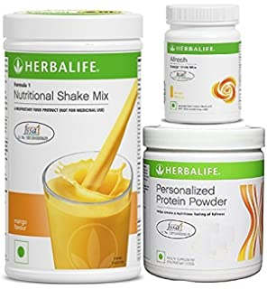 Herbalife Formula 1Mango With Personalized Protein Powder 200 Gm And Afresh Lemon