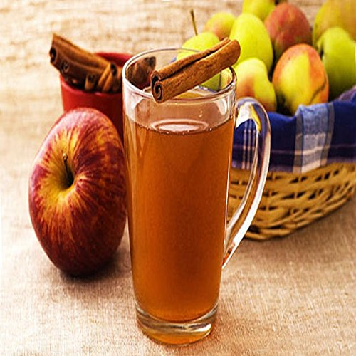 HOT APPLE CIDER FRAGRANCE OIL - 4 OZ - FOR CANDLE & SOAP MAKING BY VIRGINIA CANDLE SUPPLY - FREE S&H IN USA