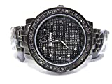 JoJino SABRINA MJ-1046B. 42.50 MM . ROUND. WOMAN Diamond Watch. (BLACK)