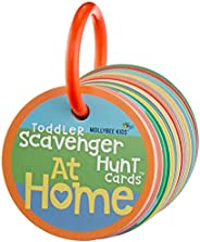 Toddler Scavenger Hunt Cooperative Card Game at Home - Interactive, Educational, and Mobile First Game Toy for