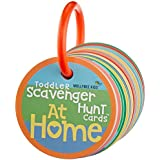 Toddler Scavenger Hunt Cards at Home - Interactive, Educational, and Mobile First Game Toy for Toddlers Boys Girls Kids 2 3 and Up