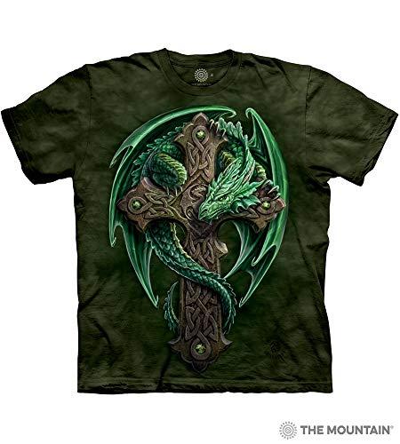 - The Mountain Woodland Guardian Adult T-Shirt, Green, Medium