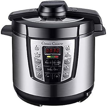 Amazon.com: Multi-Cooker 4-in-1 Pressure Cooker, Slow