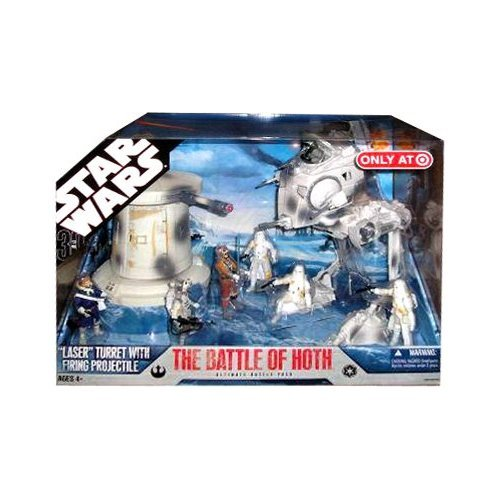 Star Wars The Battle of Hoth 30th Anniversary Saga 2007 Exclusive Action Figure Mega-Pack