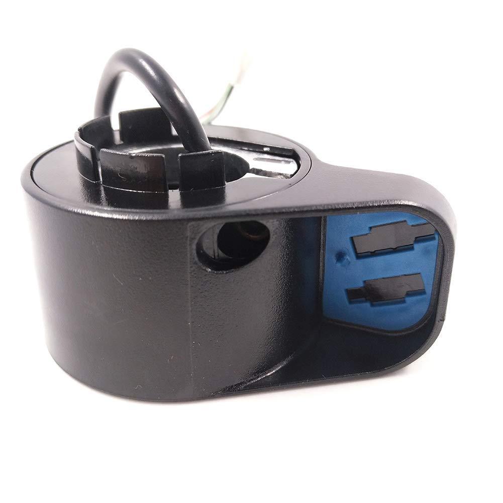 Matedepreso Durable Trottinette /Électrique Parties Doigt Acc/él/érateur pour Ninebot ES1//ES2//ES3//ES4 Ebike Noir Free Size