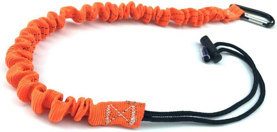 Blanchel Telescópica Anti-caída Cuerda elástica Cuerda de Escalada Escalada Cuerda elástica Mosquetón Herramientas de Escalada elásticas Profesionales
