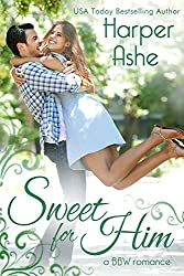 Sweet for Him: A BBW Romance (Sweet Curves Book 2)