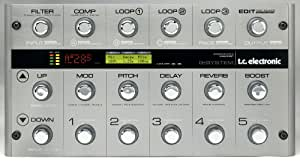 TC Electronic G-System Floor Based Guitar Effects/Management System 25 Effects, 5 Discrete Loops, Amplifier Switching
