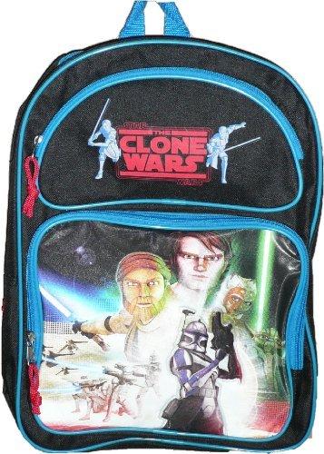 Clone Wars Backpack - Star Wars the Clone Wars Medium 14