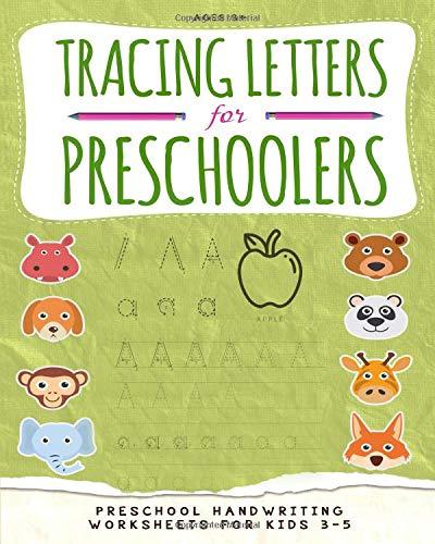 Tracing Letters for Preschoolers: Preschool handwriting ...