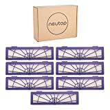 Neutop High Performance Filter Replacement for Neato Connected D3 D4, Botvac D Series D75 D80 D85, and Botvac Series 65 70e 75 80 85 Models, 7-Pack.
