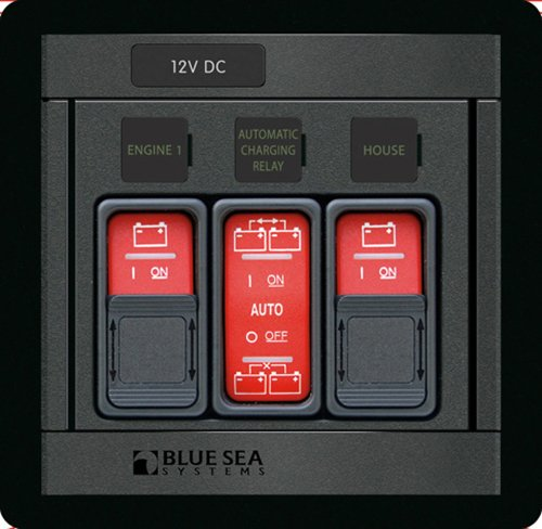 Blue Sea Systems Remote Control Panel for ML Series Switches and Automatic Relays