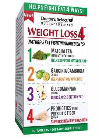 Doctor's Select Weight Loss 4, Tablets 90 ea by Doctor's Select