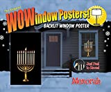 Wow Windows 208163 Menorah Window Poster