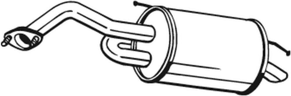 Bosal 128-001 Silencieux arri/ère