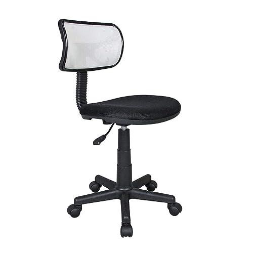 Student Mesh Task Office Chair. White