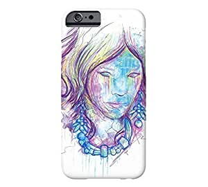 7149792M60462003 Abstract Thought iPhone 6 White Barely There Phone Case