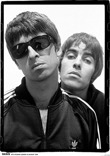 oasis definitely maybe poster - 8