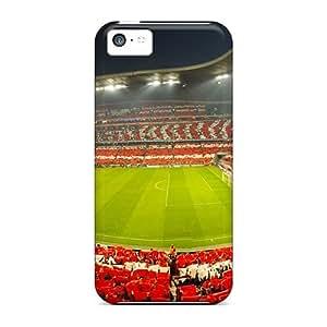 Elaney OAk2332RIBO Protective Case For Iphone 5c(champions League Semifinal Bayern Munich Vs Lyon)