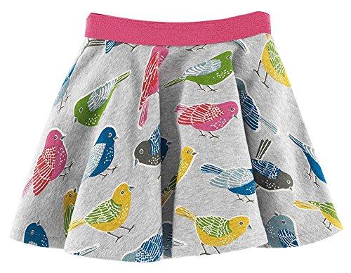 Fiream Girls Summer Cotton Water Printing Beach Skirt(S0162,4T)