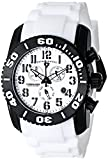 Swiss Legend Men's 11876-TIB-02 Commander Titanium Analog Display Swiss Quartz White Watch