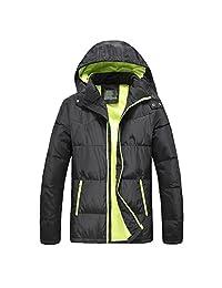 Men's Winter Hooded Packable Down Jacket Coats