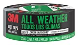 3M AllWeather Duct Tape, 2245-A, 1.88 Inches by 45 Yards