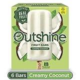 OUTSHINE Coconut Frozen Fruit Bars, 6 Ct. Box | Gluten Free | Non GMO