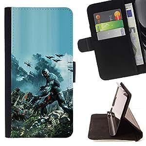 Momo Phone Case / Flip Funda de Cuero Case Cover - Juego Crys1s;;;;;;;; - Sony Xperia Z3 D6603