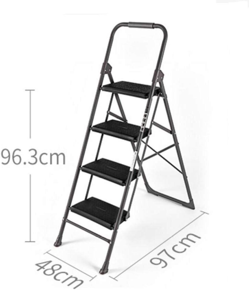 KFDQ Escalera Alemana Casa Plegable Escalera de Dos O Tres Pelda/ños Escalera de Cuatro Escalones Escalera en Espiga Escalera Interior Escalera Peque/ña Silla Escalera Ascendente